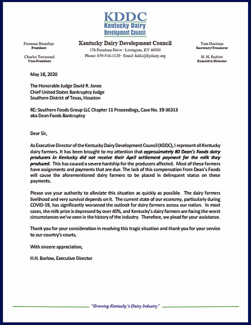 9_KDDC_Barlow_Letter_Dean_Estate